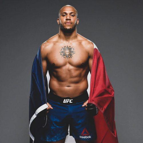 Cyril Gane, poids lourd de l'UFC