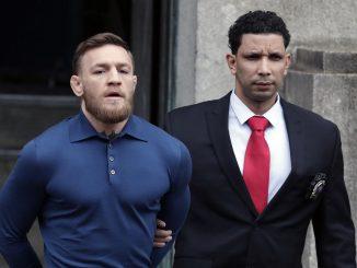 McGregor arrêté