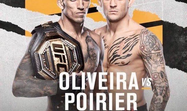 ufc 269 Poirier vs Oliveira