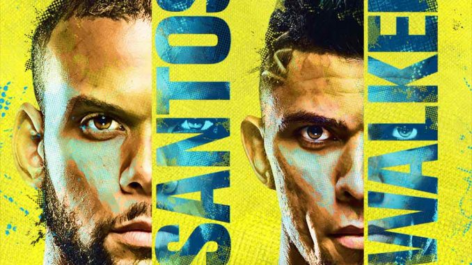 Combat Santos vs Walker